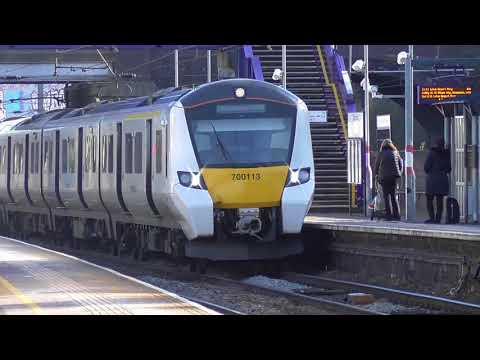 Trains at: West Hampstead Thameslink - MML - 16/2/18