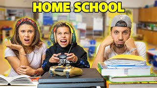 FERRAN'S FIRST DAY Of HOME SCHOOL! **CRAZY DAY** | The Royalty Family