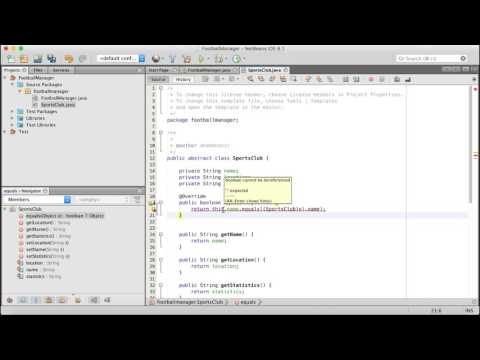 How to create a Football Management System in Java Netbeans using OOP thumbnail