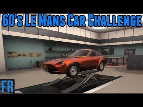 Automation Challenge - 60's Le Mans Car