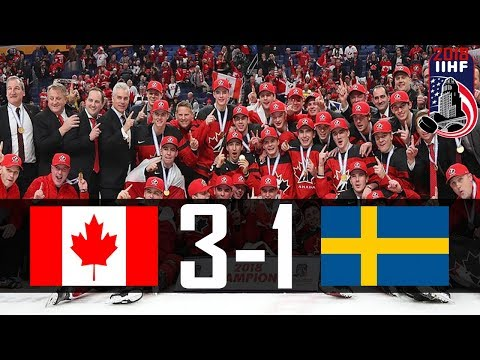 Canada vs Sweden | 2018 WJC GOLD MEDAL GAME | Highlights | Jan. 5, 2018