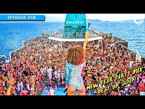 New Year Mix | Best of 2017 Popular EDM | MEGAMIX New Year Party Mix 2018 Electro & House Club Music