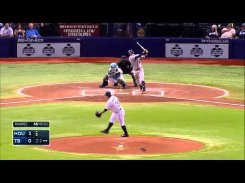 Erasmo Ramírez eclipsó a los Astros