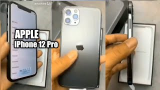 Apple IPhone 12 Pro - Hands on Video