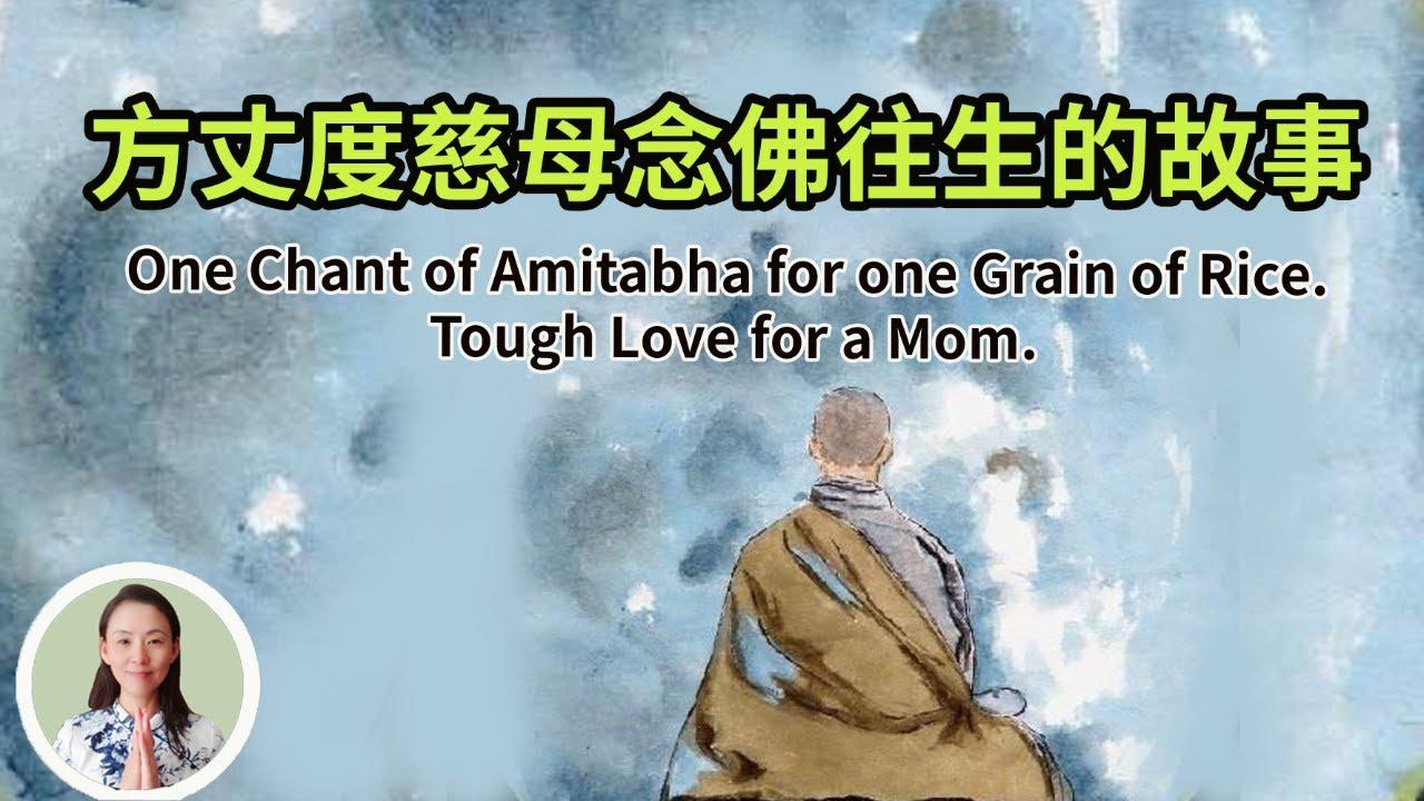 【一声佛号一粒米,方丈度慈母念佛往生】孝有四個層次和四種境界!One Chant of Amitabha for one Grain of Rice. Tough Love for a Mom.