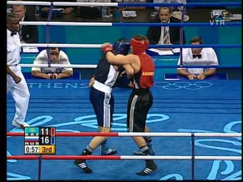 Gaydarbek Gaydarbekov (RUS) vs Gennadiy Golovkin (KAZ)