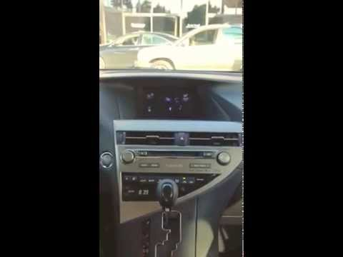 2015 Lexus RX350 & iPhone Pairing Demonstration