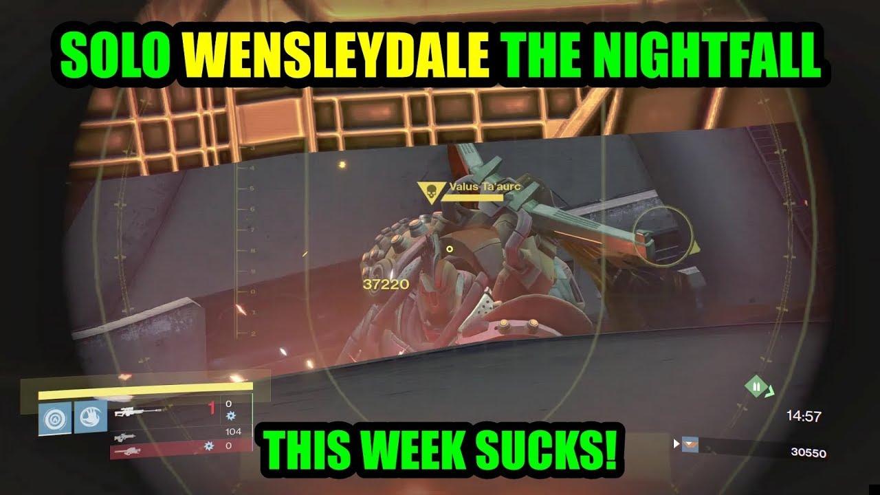 Destiny nightfall matchmaking