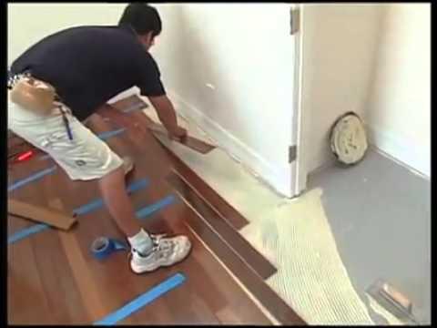 Installing Hardwood Floors over Concrete