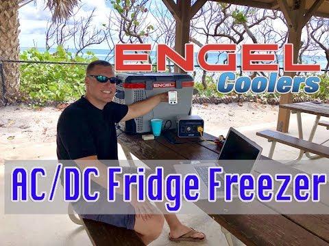 Portable Refrigerator, Engel Fridge Freezer Review, Compressor Mini Fridge,  For Cars, Trucks, Boats