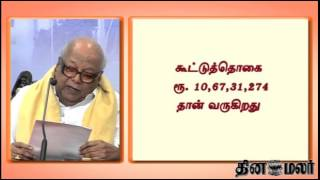 DMK Leader Karunanidhi Calculation Looks Wrong in Jayalalithaa Case