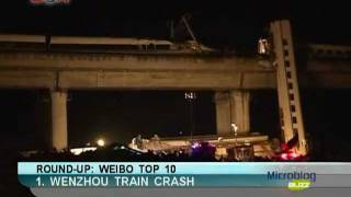 Wenzhou Train Crash in China, Microblog Buzz Dec. 30 - BON TV China
