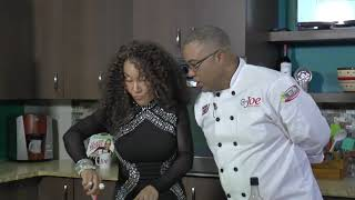 Marcia Miranda &amp Joel make Sweet and Spicy Shrimp with Feta