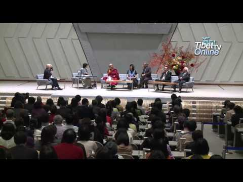 His Holiness talk at Kyoto International Conference Center