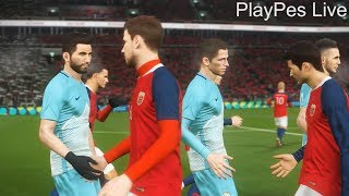 PES 2018 - SLOVENIA vs NORWAY - Full Match & All Goals - PC Gameplay 1080p HD