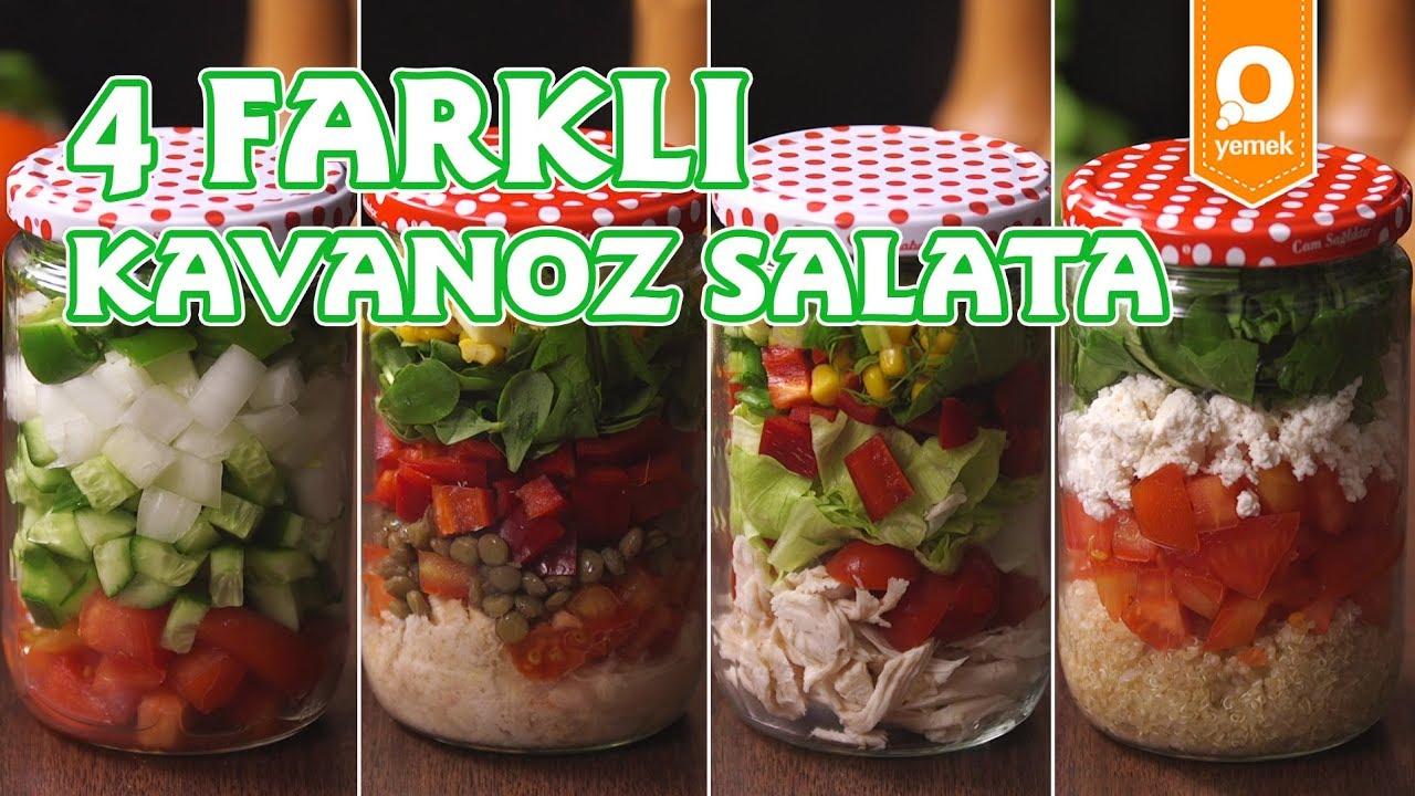 Kavanoz Salatası (Tahıllı)