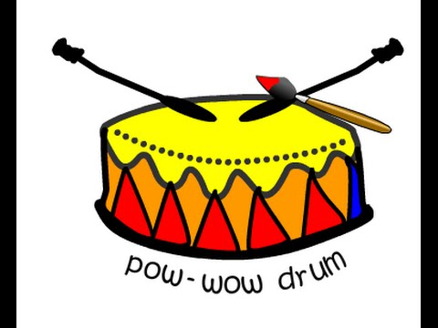 Image result for pow wow clipart