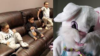 EASTER BUNNY PRANK ON KIDS!!!