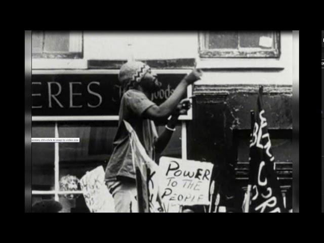 Darcus Howe speech at the Mangrove demo 1970