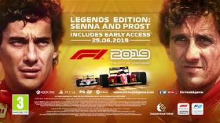 F1 2019   Senna & Prost Legends Edition Trailer   PC PS4 Xbox One