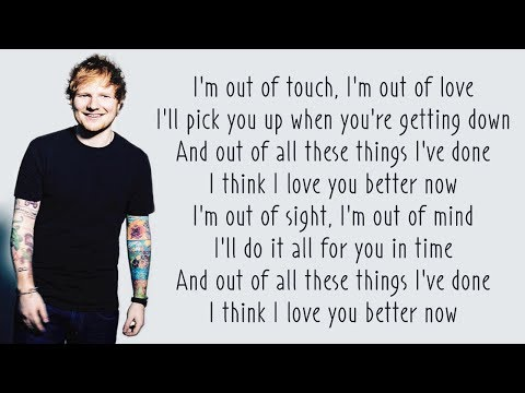 Ed Sheeran - Lego House (Lyrics)