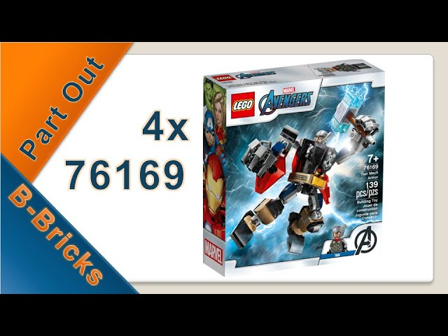 Part Out Party, Lego 76169 ausgepartet für meinen Bricklink-Shop