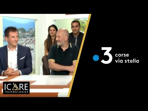 Coopération entre QWANT et ICARE Technologies, Interview France 3