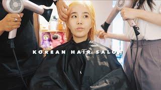 KOREAN HAIR SALON • Back to Blonde? Sugaring Hair Removal🍯