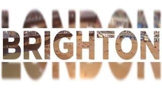 BrightonLondon Cinematischer Vlog  Drohnenaufnahmen  FlaverHD