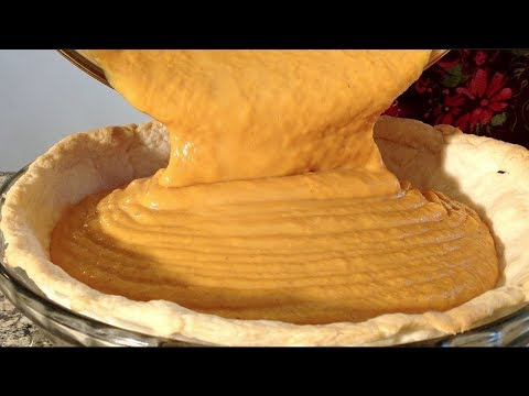 Sweet Potato Pie-How To Make Sweet Potato Pie-Baking-Recipes-Homemade Pie Crust
