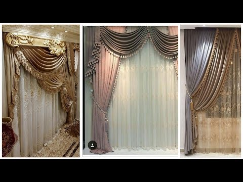 85 Latest chiffon net  Curtains Designs 2020