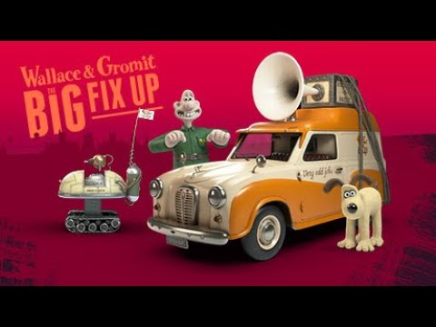 Wallace & Gromit: The Big Fix Up – Interactive Adventure Coming December 2020