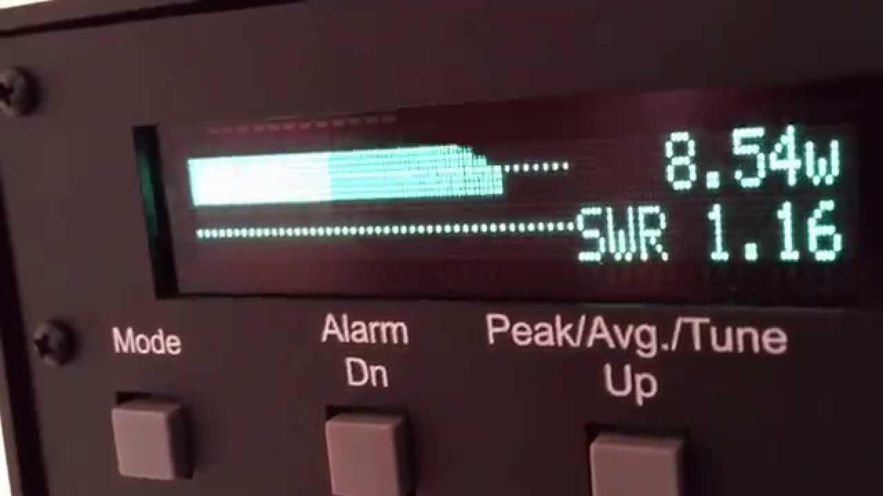 Icom IC-7100 100W PEP  Correct Measurements RMS and PEP