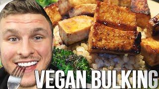 vegan Day of Bulking on a Rest Week: Hot Chocolate, BBQ Tofu & Christmas!