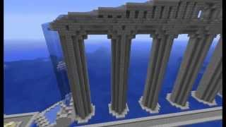Minecraft Builds #3:  Roman Aqueduct