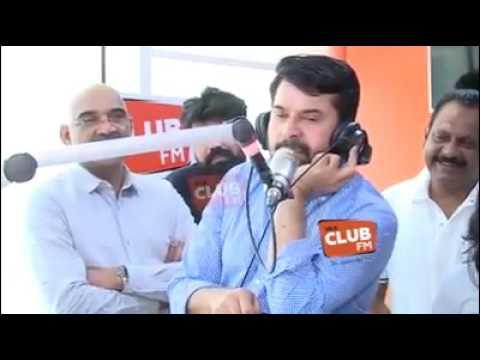 Mammootty in CLUB FM studio UAE