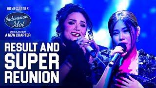 MELISA X KRISDAYANTI - MENCINTAIMU X COBALAH UNTUK SETIA - RESULT & REUNION - Indonesian Idol 2021