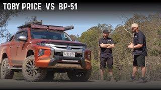 Toby Price's Triton Old Man Emu BP-51 test run