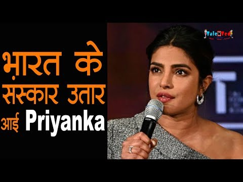 विदेश जाकर बेशर्म हुई Priyanka Chopra | Photoshoot INSIDE Video | Talented India News