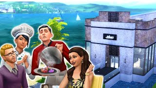 THE SIMS 4 DINE OUT | Seafood Restaurant