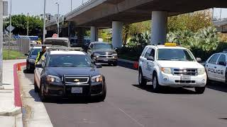 LAX airport police checkpoint  p2