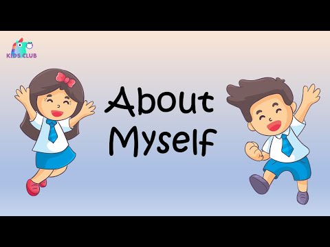 About myself - Let me introduce myself - learning lessons for kids