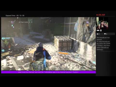 The Division **DarkZone** With a Girl Gamer