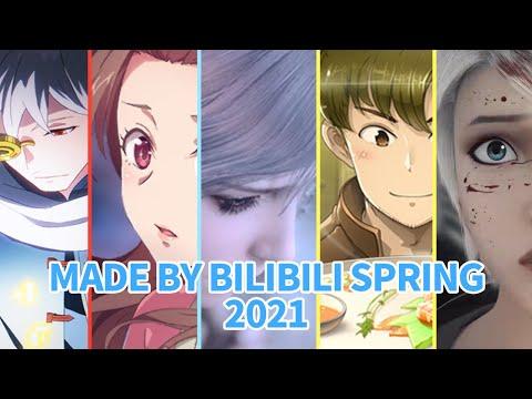 Made By Bilibili 2021春季新动画 | 加入会员抢先观看