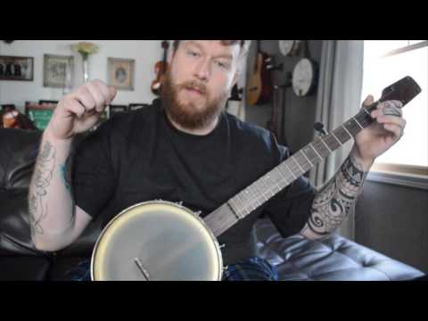 Basic Rhythm Notation inside Clawhammer Banjo