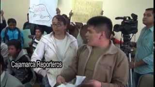 Profesor Iván León casi se va a las manos con estudiante en la Universidad Nacional de Cajamarca