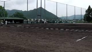 3回裏『上郡中vs龍野東~上郡中学校野球部近隣大会2012』