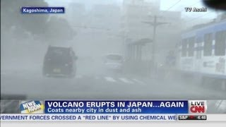 Japanese Volcano Eruption