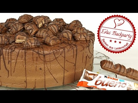 kinder bueno torte schokoladennusstorte. Black Bedroom Furniture Sets. Home Design Ideas