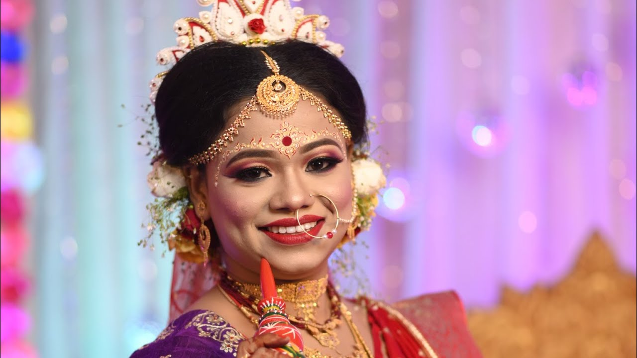 Bengali bridal makeup |Step by Step | HD makeup